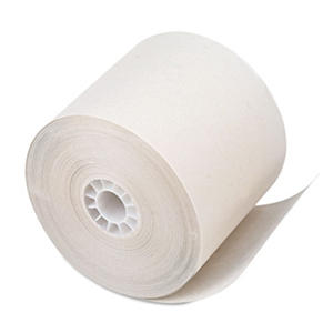 "PM Company - Paper Rolls, One-Ply Recycled Receipt Roll, 2-1/4"" x 150 ft, White - 100/Carton"