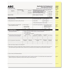 PM Company - Digital Carbonless Paper, 8-1/2 x 11, Two-Part, White/Canary -  1250 Sets/Carton