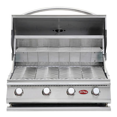 Cal Flame Gourmet Series 60,000 BTU 4-Burner G4 Stainless Steel Gas Grill