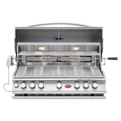 Cal Flame 75,000 BTU 5-Burner Stainless Steel Convection Grill and Rotisserie