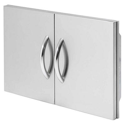 """Cal Flame 30"""" Stainless Steel Double Access Doors"""