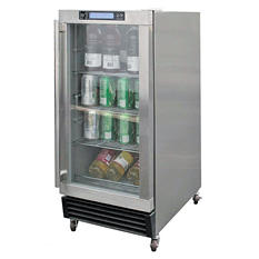 Cal Flame 3.25 cu. ft. Stainless Steel Outdoor Beverage Cooler