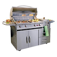 Cal Flame A La Cart Deluxe 4-Burner Stainless Steel Gas Grill