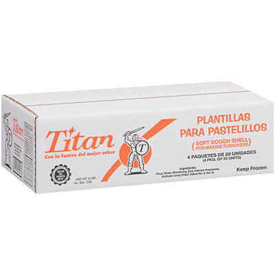 Titan Soft Dough Shell - 4/20 ct.
