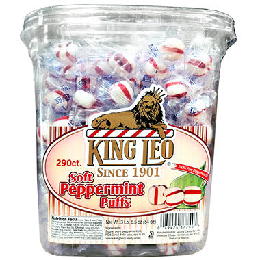 King Leo�  Soft Peppermint Puffs - 290 ct.