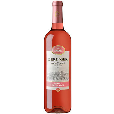 Beringer Blush White Zinfandel - 750 ml