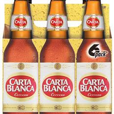 Carta Blanca Cerveza® - 6/12 oz.