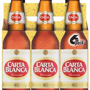 Carta Blanca Cerveza (12 fl. oz. bottles, 6 pk.)