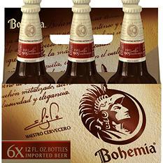 Bohemia Brand Beer (12 oz. bottles, 6 ct.)