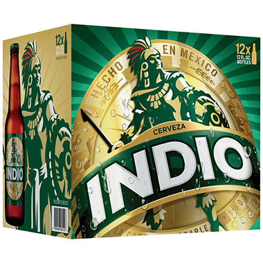 INDIO 12 / 12 OZ BOTTLES