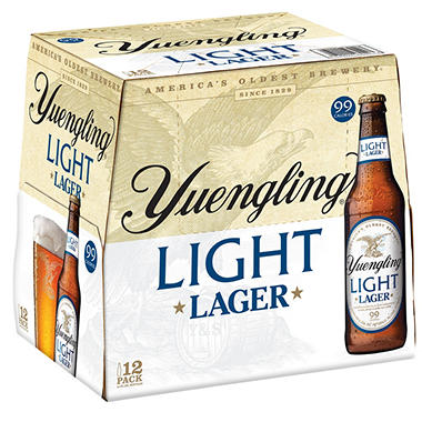 YUENGLING LIGHT 12 / 12 OZ BOTTLES