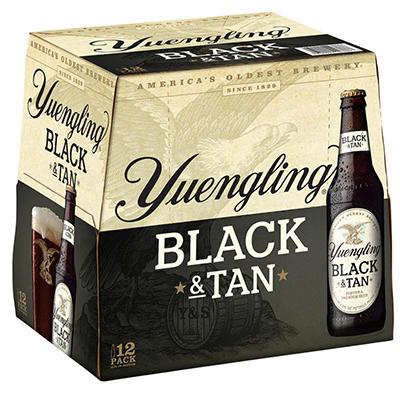 Yuengling Black & Tan 12 / 12 oz.