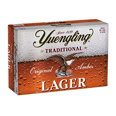 xOFFLINE+YUENGLING  LABER 24 / 12 OZ CANS