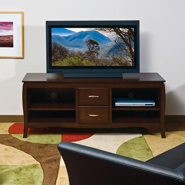 "OSP Designs Brighton 60"" TV Stand with Side Folding Construction"