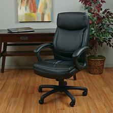 High-Back Eco Leather Executive Chair