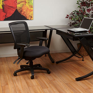 Office Star ProGrid Back Manager's Chair, Black