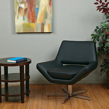 "Avenue Six Yield 31"" Wide Chair - Black Vinyl"