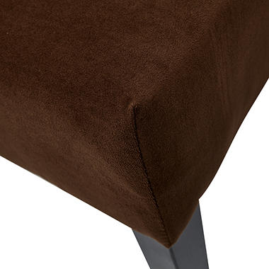Avenue Six Laguna Chair - Brushed Chocolate Fabric