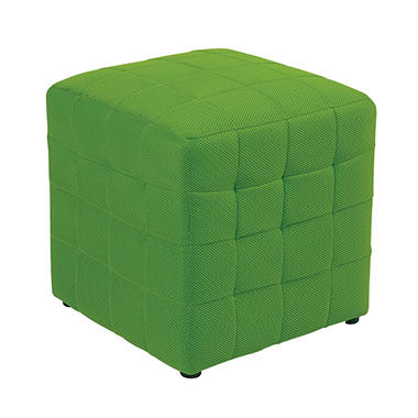 "Avenue Six Detour 15"" Fabric Cube - Green"
