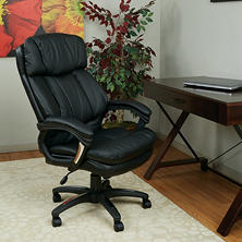 work smart oversized faux leather executive chair black bedroomalluring members mark leather executive chair