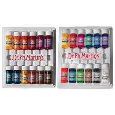 Dr. Martin's Bombay India Ink, 1/2 Ounce Jars, Assorted Colors, Set of 24