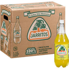 Jarritos Pina Soda (1.5L bottles, 8 pk.)