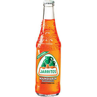 Jarritos Mandarin Soda (12 oz. glass bottles, 24 pk.)
