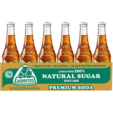 Jarritos Tamarind Soda (12.5 oz. glass bottles,  24 pk.)