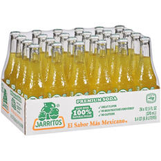 Jarritos Pineapple Soda (12.5 oz. glass bottles, 24 pk.)