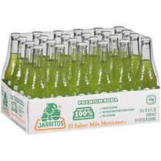 Jarritos Lime Soda (12.5 oz. glass bottles, 24 pk.)