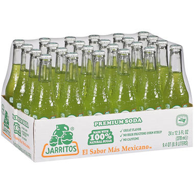Jarritos� Lime Soda 24/12.5 oz.
