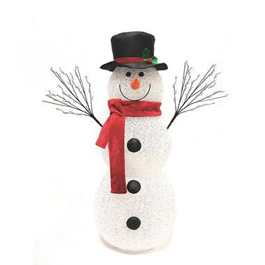 Pre-lit Snowman - 48