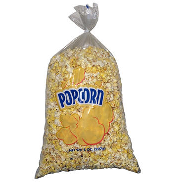 Value Size 8 oz. Popcorn Bag - 500 ct.