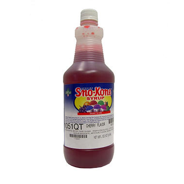 Gold Medal Sno Kone Syrup, Choose Flavor (1 qt. jug)