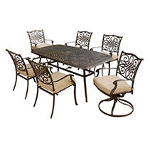 Click here for Hanover - Traditions Series 7-piece Dining Set prices