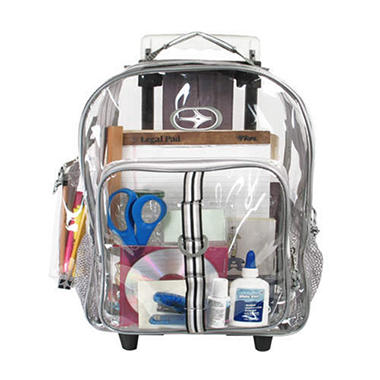 Clear Roller Backpack