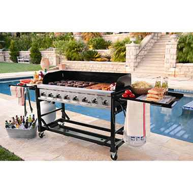 8-Burner Event Propane Gas Grill