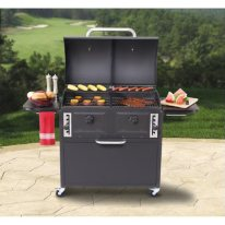 Twin Chamber Charcoal Grill