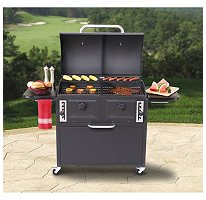 it seems like a solid charcoal grill that could be used for smoking by