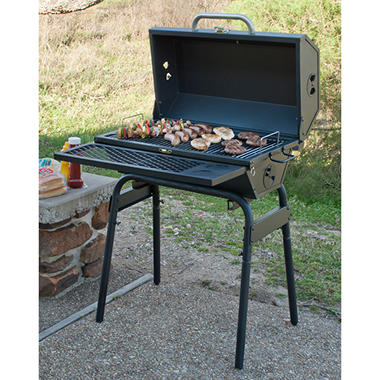 3-in-1 Charcoal Tailgate Grill