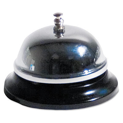 "Advantus - Call Bell, 3 3/8"" Diameter - Brushed Nickel"