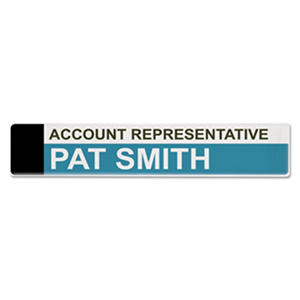 Advantus Panel Wall Sign Name Holder