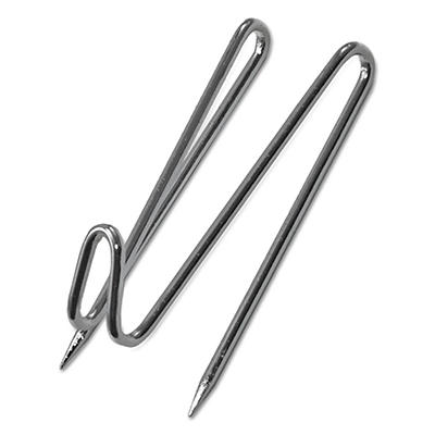Advantus - Panel Wall Wire Hooks, Silver - 25 ct.