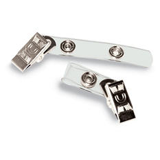 Advantus Badge Straps with Clips - 100 ct.