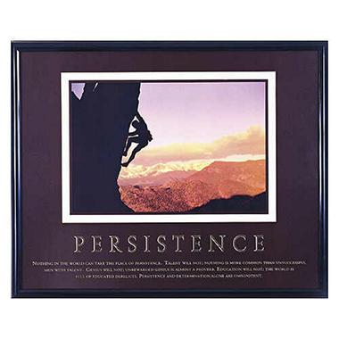 Persistence - Framed - 24