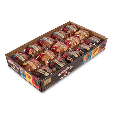 Otis Spunkmeyer Assorted Muffins - 15 ct.