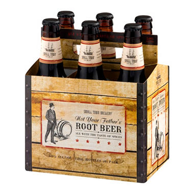 FATHER'S ROOT BEER 6 / 12 OZ BOTTLES
