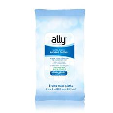 ALLY Adult Care Bathing Cloths (8 Cloths, 4 Pk.)