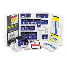 First Aid Only - Large First Aid Kit, 209-Pieces, OSHA Compliant -  Plastic Case