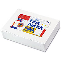 First Aid Only - First Aid Kit for 25 People, 106-Pieces, OSHA Compliant -  Metal Case